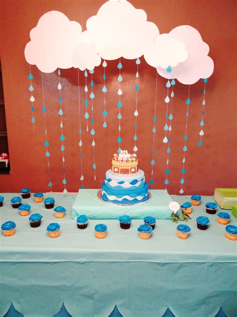 Noah S Ark Baby Shower Theme - noah s ark themed baby shower cake table my events and