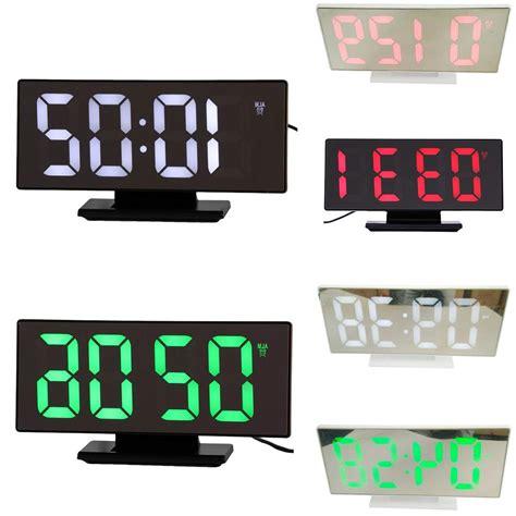 Alarm clock regular alarm clock:version 1. Multifunction Digital Alarm Clock LED Display Mirror Clock
