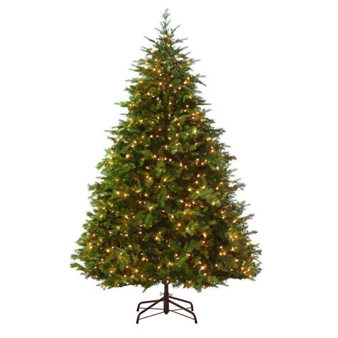ge nordic spruce christmas tree martha stewart living 9 ft indoor pre lit nordic spruce artificial tree 9315410610