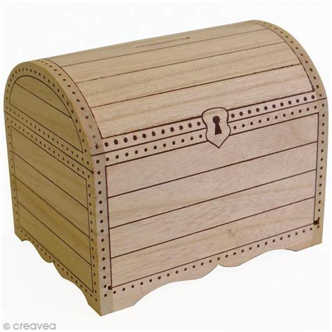 tirelire coffre en bois 224 d 233 corer 15 x 11 x 12 5 cm tirelire 224 d 233 corer creavea