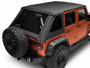 Bestop Jeep Wrangler Trektop Nx Soft Top