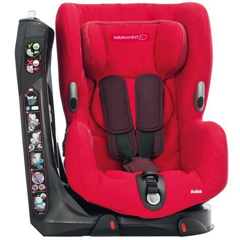 siege auto bebe confort axiss pivotant axiss up de bébé confort siège auto groupe 1 9 18kg aubert