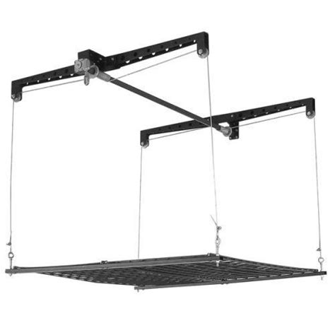 racor ceiling storage lift new racor phl 1r pro heavy cable lift garage ceiling