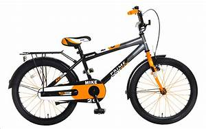 Kinderrad 20 Zoll : 20 zoll kinderrad jungenrad atb mike anthrazit orange ~ Jslefanu.com Haus und Dekorationen