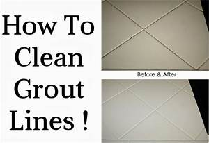 How To Clean Grout Lines - DIY Craft Projects