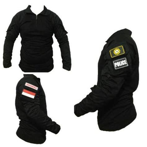 jual combat shirt resintel baju kaos bdu tactical hitam