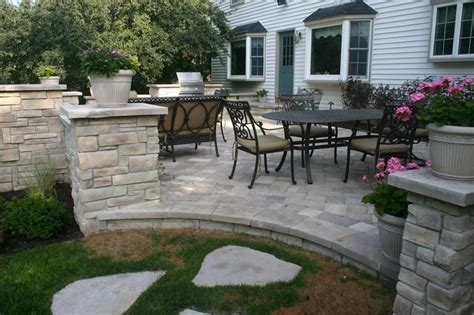 Exterior Stone For Backyard Projects-traditional-patio