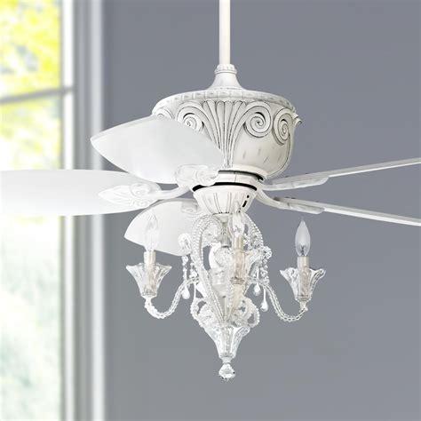 60 white ceiling fan with light 44 quot casa deville antique white ceiling fan with light