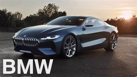 bmw concept bmw concept 8 series return to a new era youtube