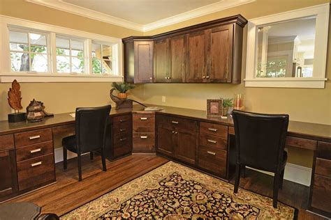 Cabinets For Home Office: Custom Office Cabinets MN