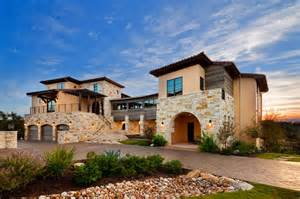 small mediterranean house plans front elevation flood plain home on lake travis
