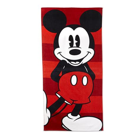 disney designer beach towel mickey mouse home bed