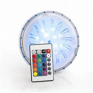 Lampe De Piscine : spot led pour piscine hors sol acier multicolore leroy ~ Premium-room.com Idées de Décoration