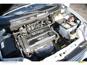 2005 Chevrolet Aveo Ls Sedan 1 6l Dohc 16v 4 Cylinder