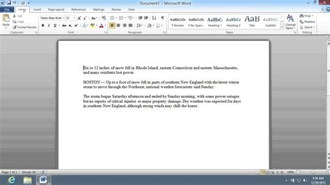 show word count  microsoft word  youtube