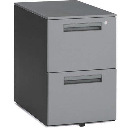 Metal File Cabinet Walmart by Ofm Metal Mobile Filing Cabinet Gray Walmart