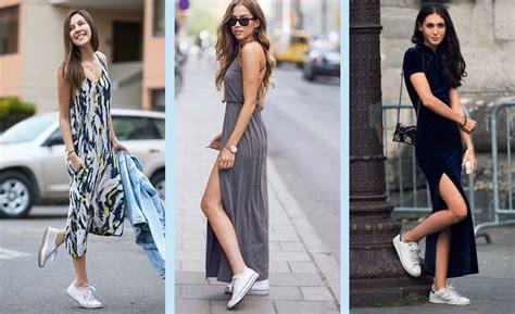 7 formas de usar un vestido largo y suelto - Yo amo los zapatos
