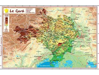 Acheter Carte Du Monde En Relief by Gard Carte En Relief Collectif Achat Livre Achat