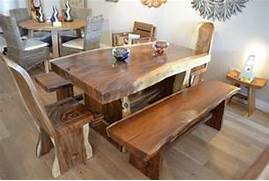 Dining Set Bench Style by Chunky Solid Oak Dining Table Go To For Even More