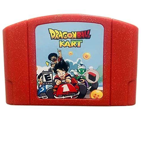 Mario kart 64 mario kart 64. Amazon.com: Dragon Ball Kart Video Game Cartridge US Version For Nintendo 64 N64 Game Console ...