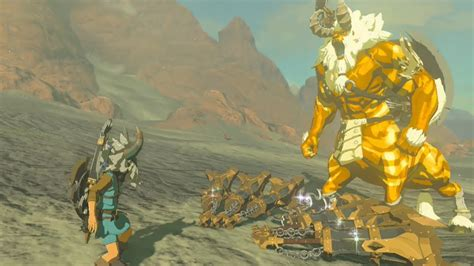 lynel zelda breath wild gold weapons