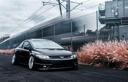 Civic Honda Slammed Coupe