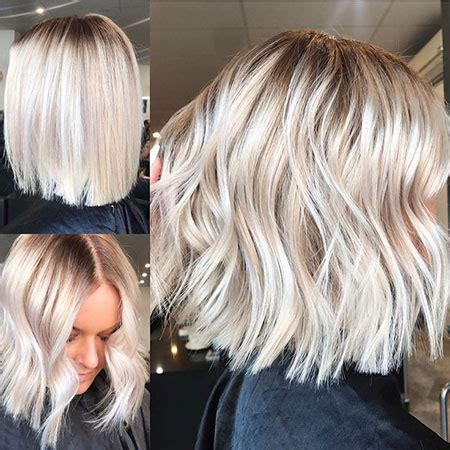 blonde hairstyles  short medium long blonde