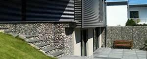 L Steine Verkleiden : gitttec die mauer aus draht ~ Frokenaadalensverden.com Haus und Dekorationen