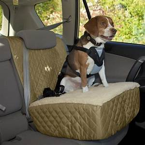 Dog Car Seat Booster    Elevated Car Seat