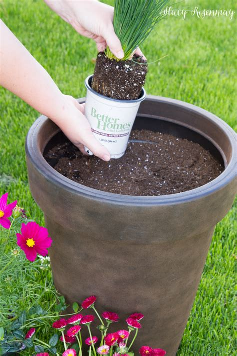 better homes and gardens planters tips for planting large pots not just a