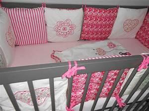 Deco Chambre Bebe Fille Gris Rose : chambre liberty photo 4 8 3516031 ~ Teatrodelosmanantiales.com Idées de Décoration
