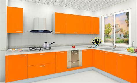 beautiful small  shape kitchen design