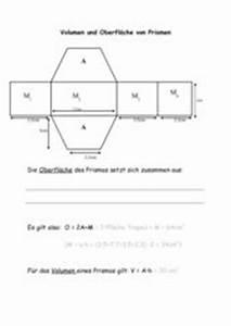 Prismen Berechnen 8 Klasse : 4teachers lehrproben unterrichtsentw rfe und ~ Themetempest.com Abrechnung