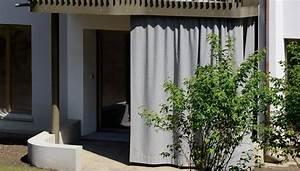 sichtschutz vorhang aussen gt kollektion ideen garten With französischer balkon mit garten vorhang