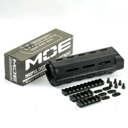 rail handguard magpul moe quad rails system tri carbine snitactical