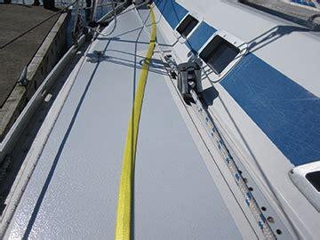 Sailboat Jacklines by Safety At Sea Blue Water Sailing