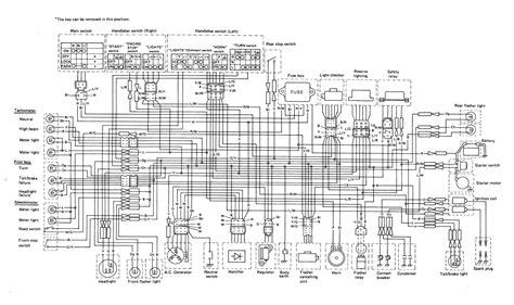 xs650 78 xs e se wiring thexscafe