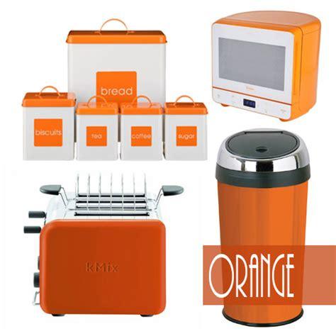 Orange Kitchen Accessories