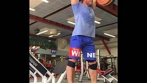 175kg  385lb X 5 Push Press - Dmitry Klokov - Olympic Weightlifting