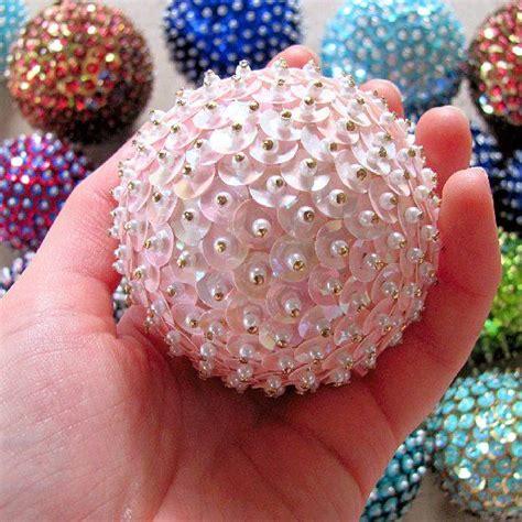 styrofoam balls sequins  pins