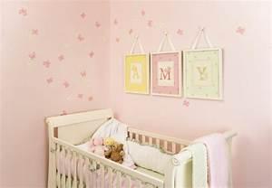 125 einrichtungsideen f r ein sch nes m dchenzimmer for Schöne bilder für babyzimmer