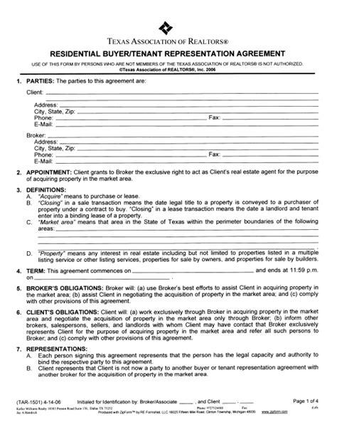 Agreement Representation Buyers Illinois