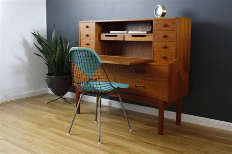 mid century office desk mid century secretary desk fits office with elegant hunter