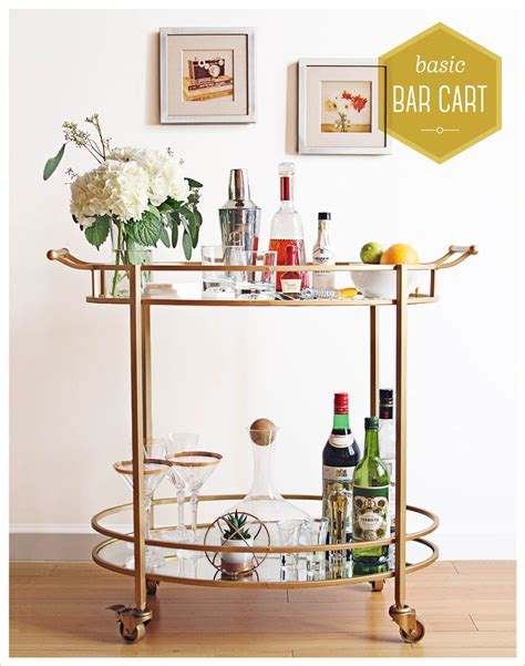 Bar Cart by Essential Bar Cart Styling Ideas To Make Your Shine
