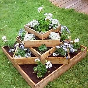 Jardinire En Palette De Bois 74 Modles Faire Soi
