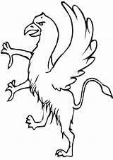 Griffin Coloring Pages Print sketch template