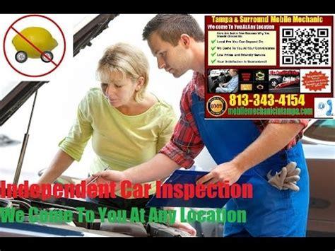 pre purchase car inspection tampa fl mobile auto
