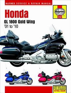 Honda Gl1800 Gold Wing Repair Manual 2001