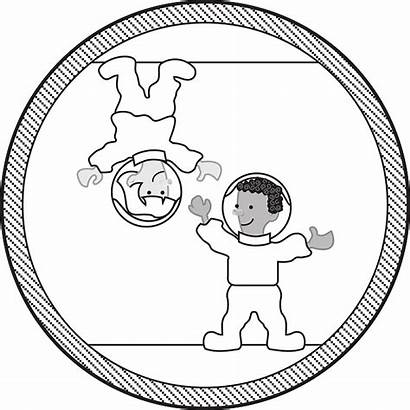 Space Clipart Gravity Float Brain Zero Less