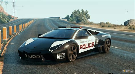 Lamborghini Reventon Police For Gta 5